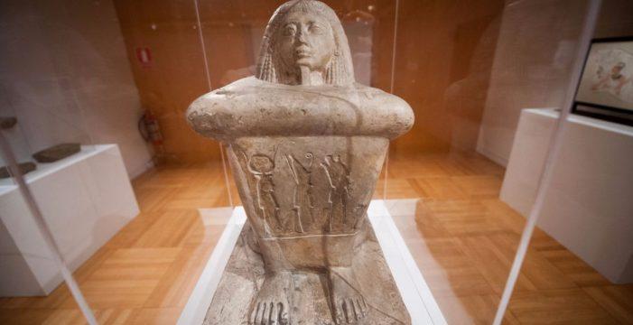 Santa Cruz recibe una de las mejores colecciones de arte egipcio de Europa