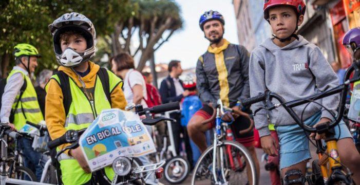 La Biciguagua arranca el día 25 con tres centros escolares más