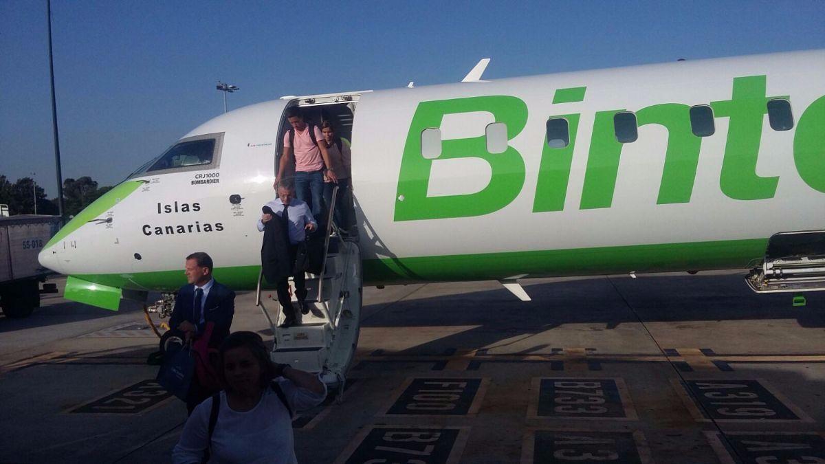 Binter estrena vuelo de Tenerife a Lisboa | DA