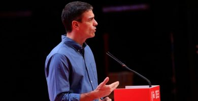 PEDRO SÁNCHEZ MITIN PSOE