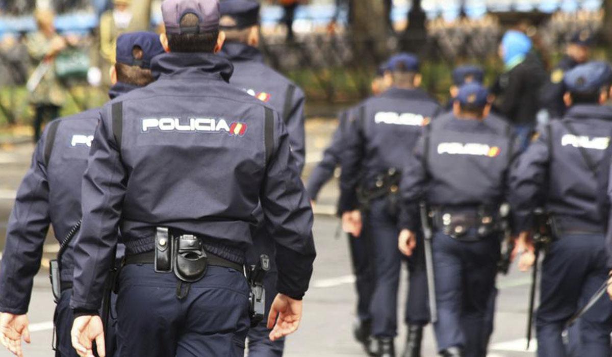 Imagen de archivo de agentes de la Policía Nacional. DA