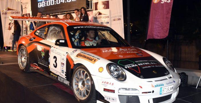 Miguel Suárez-Nazer Ghuneim (Porsche 997 GT3 2010) vencen el XI Rally Sprint Cielo de La Palma