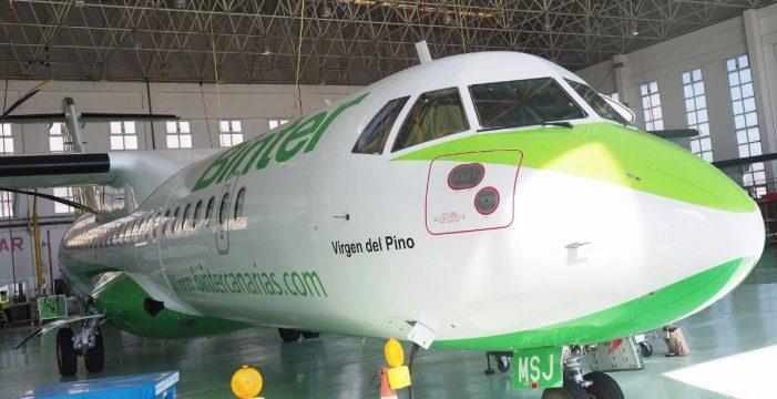 Binter presenta su avión más versátil
