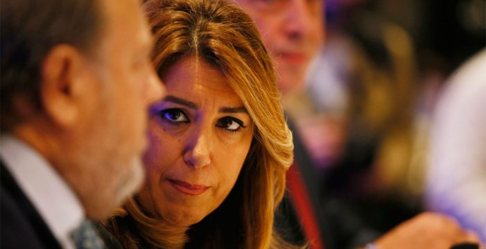 """Susana Díaz critica que se """"premie"""" a Canarias o País Vasco en los PGE para alcanzar mayorías"""