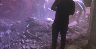 Estado de la discoteca Butterfly Disco Club en el C.C. Salityen en Las Américas después del incidente | Foto: Dai L.