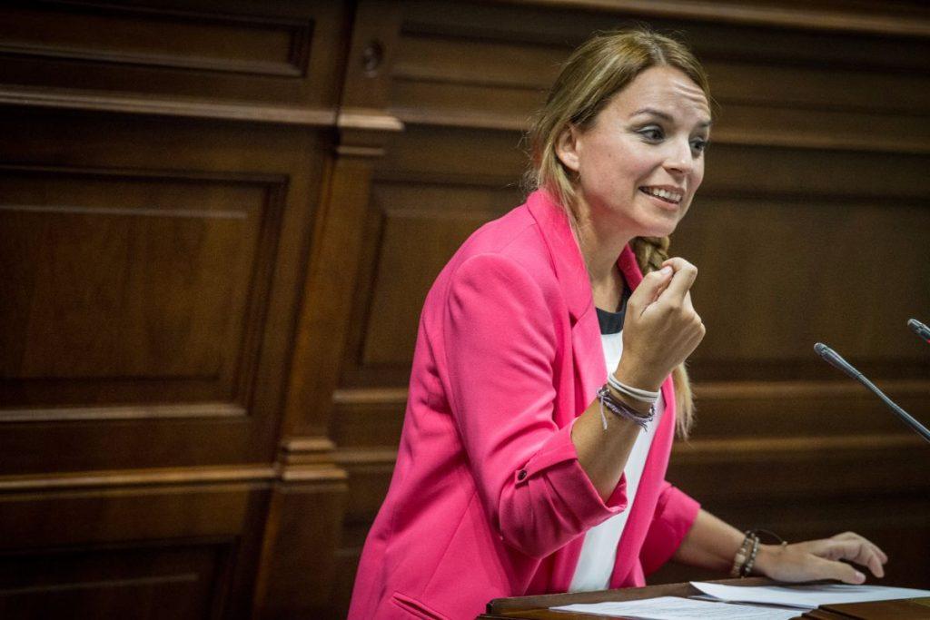 Noemí Santana (Podemos) | Foto: Andrés Gutiérrez