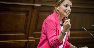 Noemí Santana (Podemos)   Foto: Andrés Gutiérrez