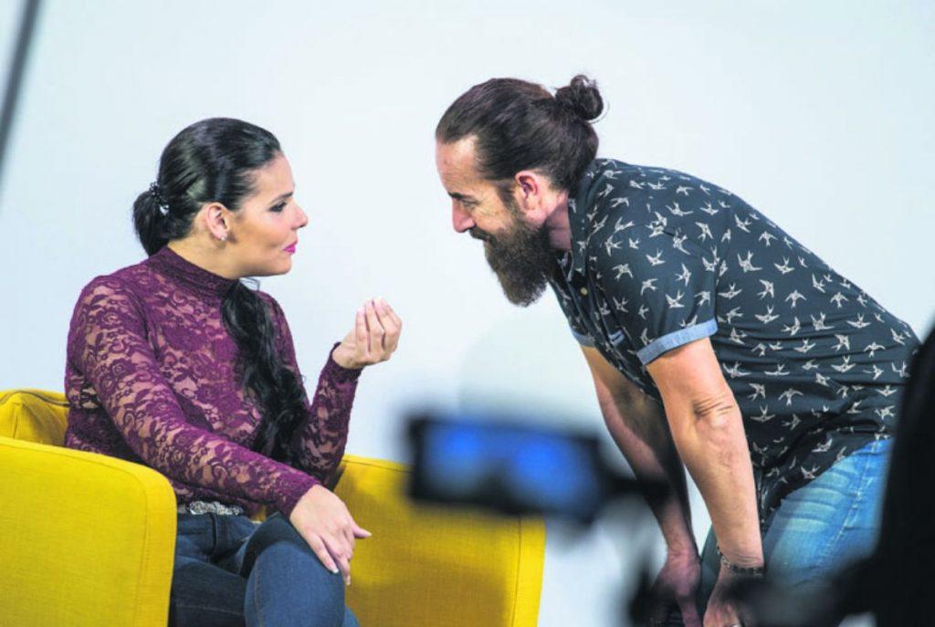 Saida Prieto y Santi Castro| FOTO: Andrés Gutiérrez