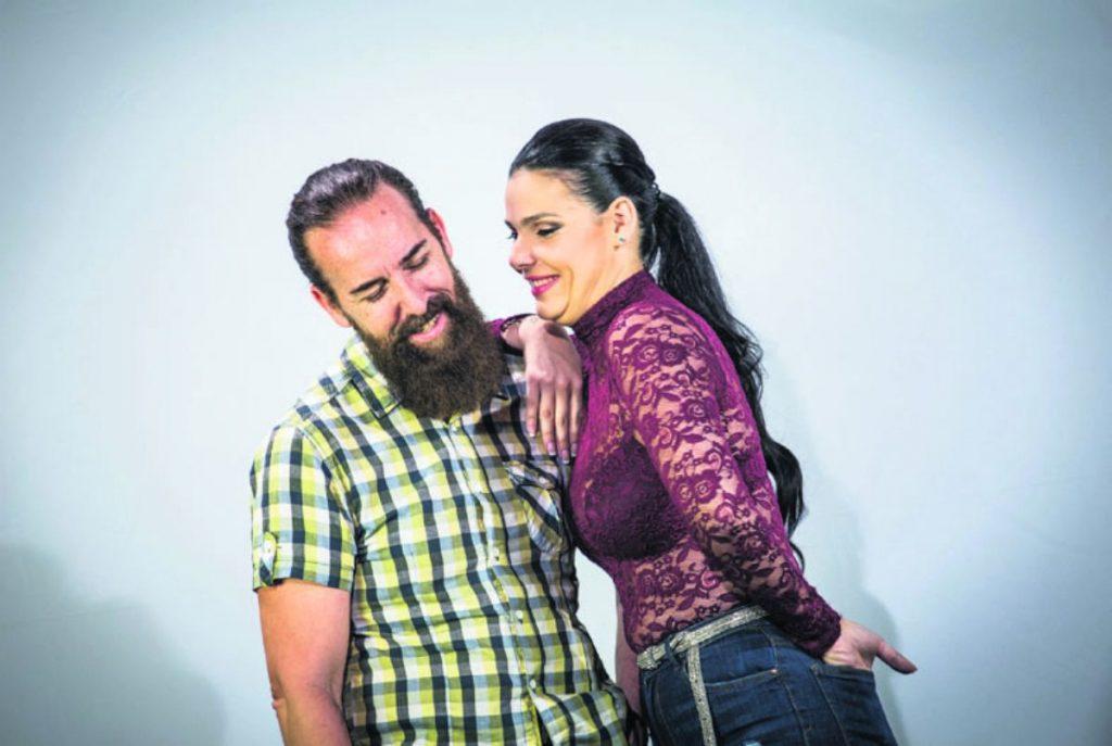 Santi Castro y Saida Prieto | FOTO: Andrés Gutiérrez