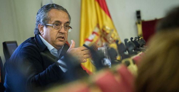 """Alarcó: """"Ni descarto ni no descarto una moción de censura en La Laguna"""""""