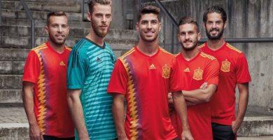 Camiseta de España Mundial de Rusia 2018 | TWITTER