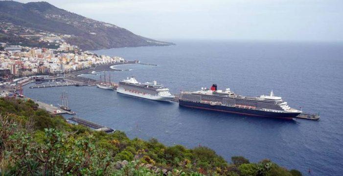 Un festival de cruceros en el Puerto de la capital palmera