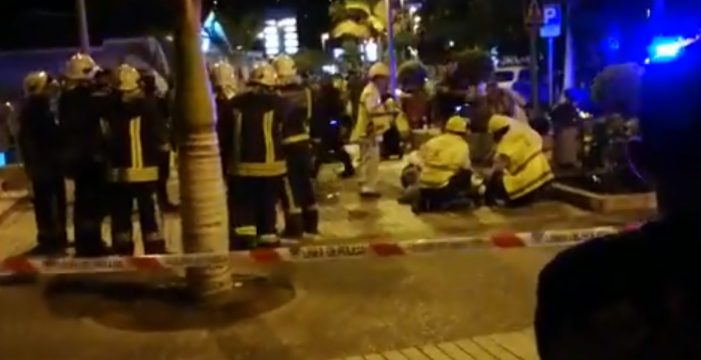 Todos los vídeos sobre el accidente en la discoteca de Adeje