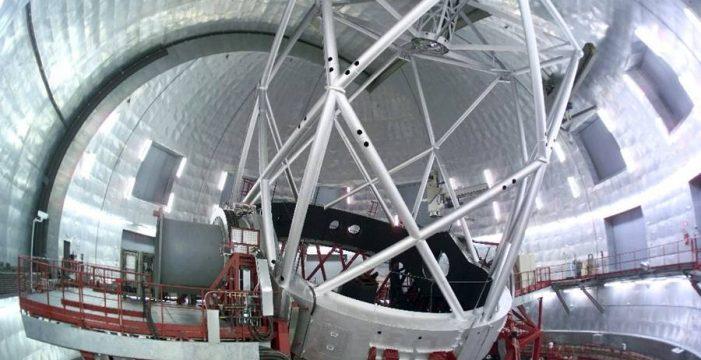 El Gran Telescopio Canarias estará inoperativo más de un mes