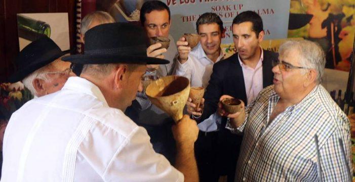 San Martín trae el vino nuevo a La Palma