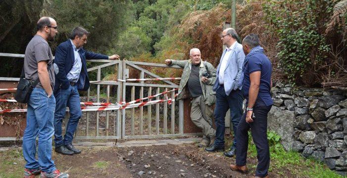 Casi medio millón, los daños por las lluvias torrenciales en Garafía