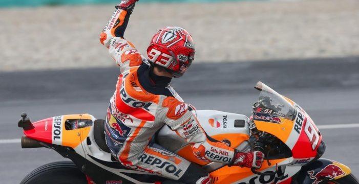 Márquez, de nuevo, campeón del mundo de MotoGP