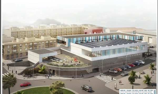 El TSJC tumba el proyecto de la piscina cubierta presentado por la UTE Candelaria
