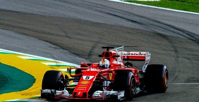 Vettel, subcampeón en Interlagos