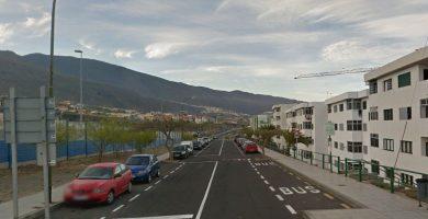 Calle Fraile Dominicos, en Candelaria (Tenerife). Google Earth
