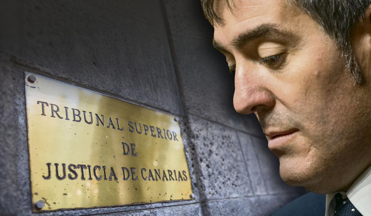 El exalcalde lagunero y hoy presidente del Gobierno de Canarias, Fernando Clavijo. Fran Pallero