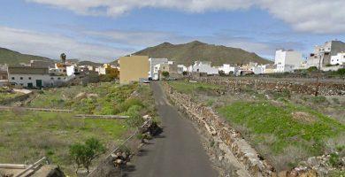 Calle Los Leones, Arona. Google Earth
