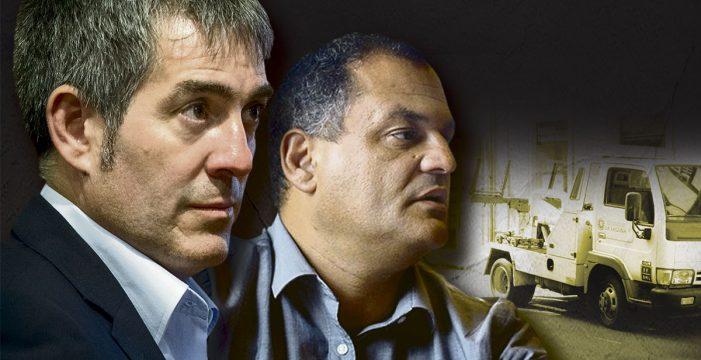 La trama de favores del caso Grúas apunta de lleno a Clavijo