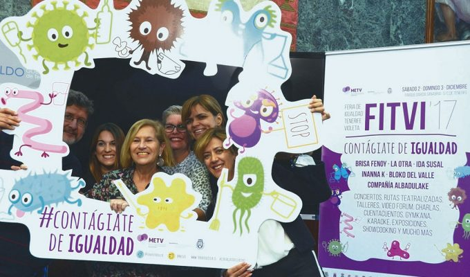 El Parque García Sanabria acogerá en diciembre la primera Feria de Igualdad Tenerife Violeta