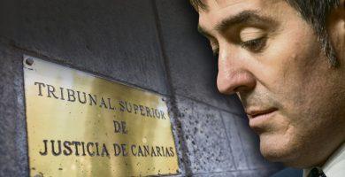 El TSJC desmiente rotundamente que descarte investigar a Clavijo