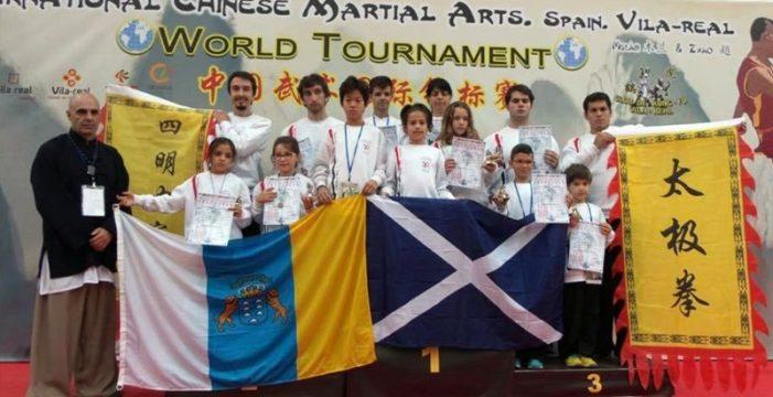 Tenerife logra 11 medallas en el Mundial celebrado en Villarreal