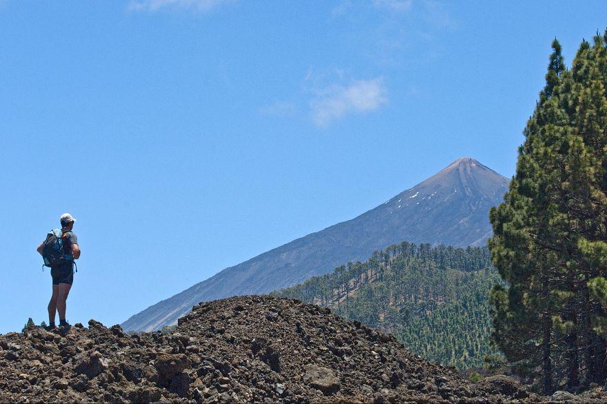 Excursionista en El Teide | DA
