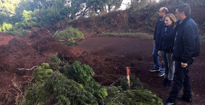 Garafía recibirá una ayuda de emergencia por los daños del temporal