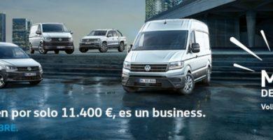 Este noviembre… ¡vuelve el Mes del Negocio! a Volkswagen Comerciales Canarias