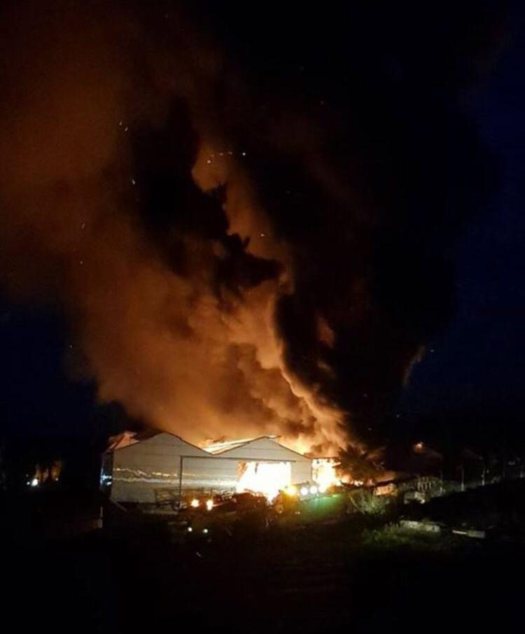 Incendio Tacoronte