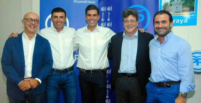 Juan Miguel Olivera, reelegido presidente del PP en Candelaria