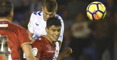 Final del partido CD Tenerife – Rayo Vallecano (2-2)