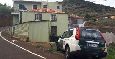 El escenario del terrible suceso en la zona de La Camacha, en Puntallana (La Palma). Google Earth