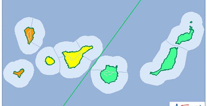 La Palma activa el Plan de Emergencias ante la llegada de la borrasca