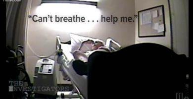 Graban cómo unas enfermeras se ríen de un paciente que está agonizando