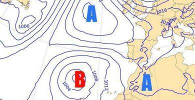 Cambio de tiempo en Canarias con posibles lluvias fuertes y tormentas