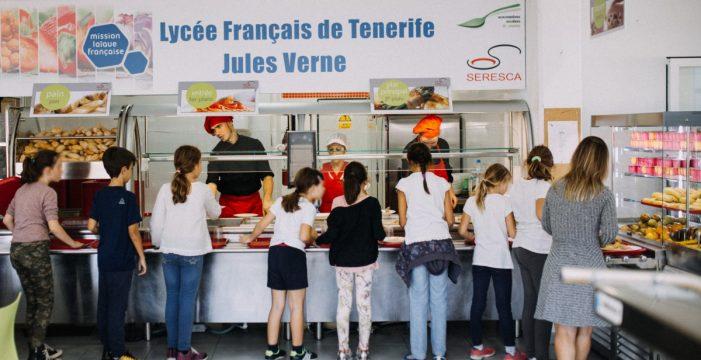 Liceo Francés de Tenerife pone en marcha su Ecocomedor