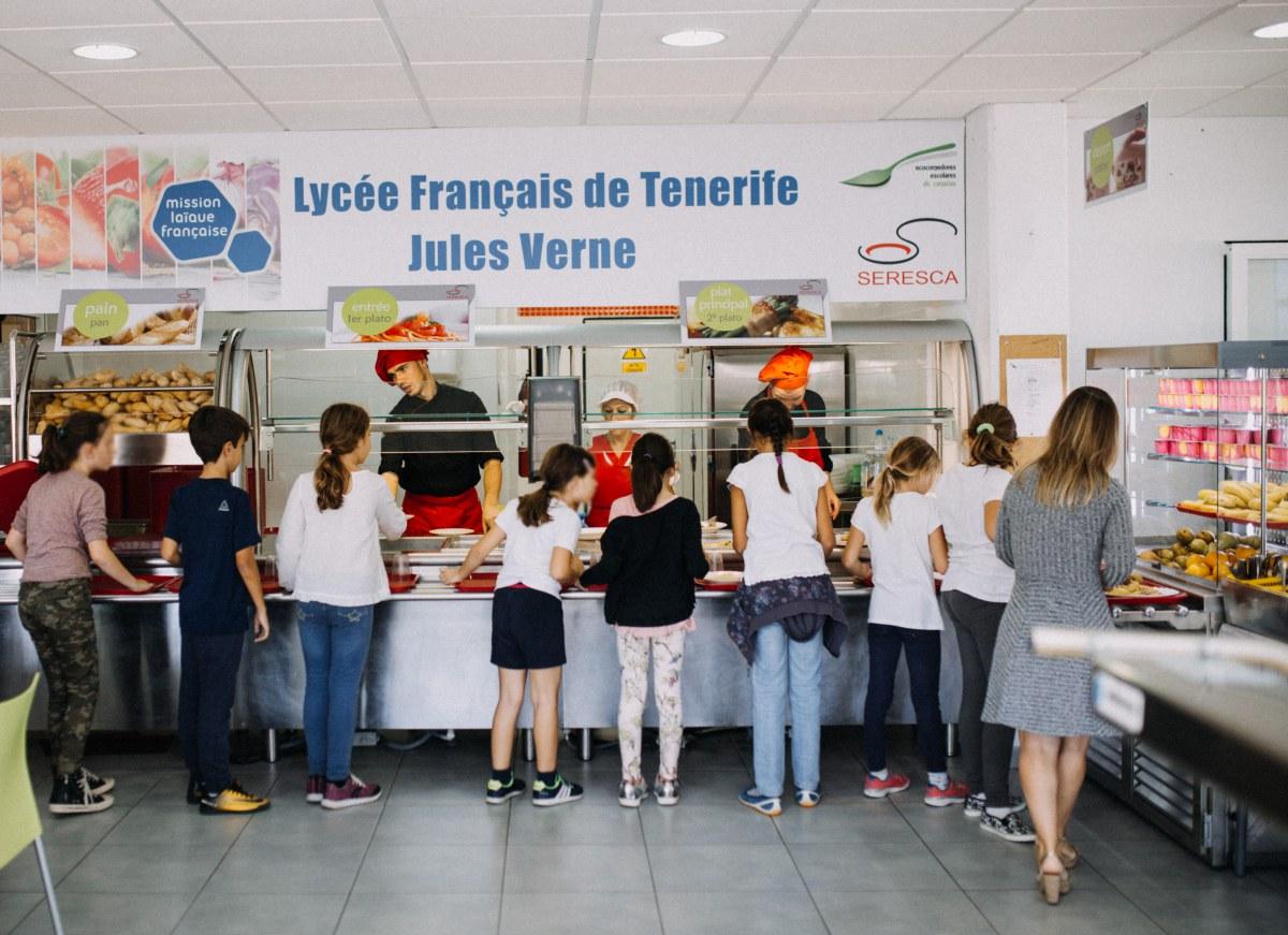 ECOCOMEDOR LICEO FRANCES TENERIFE