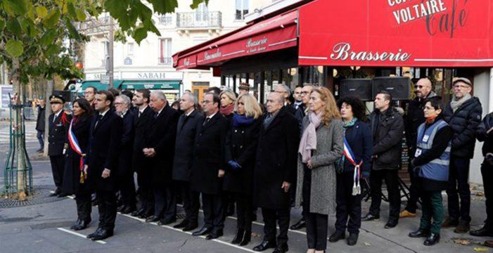 París recuerda a sus víctimas dos años después de los atentados