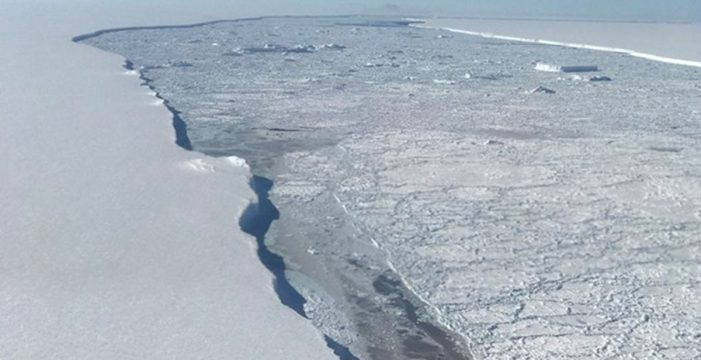 La NASA difunde nuevas imágenes sobre el iceberg gigante A68