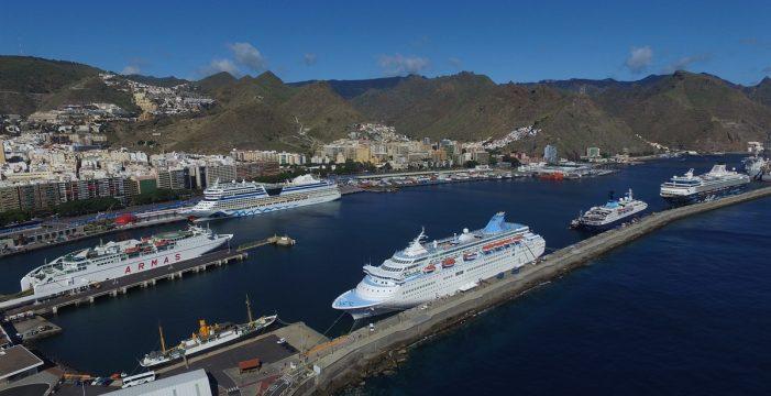 Santa Cruz recibe este viernes cinco cruceros con 16.600 turistas
