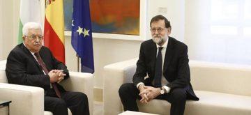 """El presidente palestino expresa al Rey y a Rajoy su apoyo """"a la unidad del pueblo"""""""
