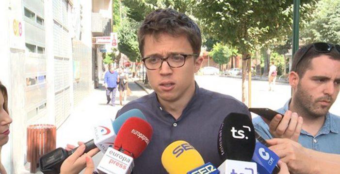 Errejón dice que hablar más a españoles y menos a independentistas es una reflexión compartida en Podemos