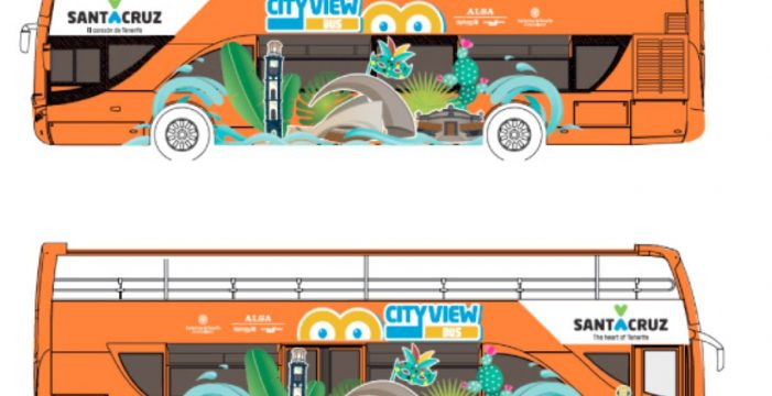 La guagua turística de Santa Cruz estrena empresa y diseño desde el 19 de diciembre