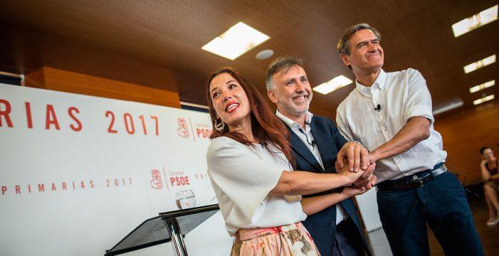 Estos son los candidatos a las primarias del PSOE de Canarias el 20 de octubre