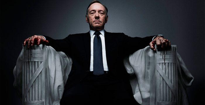 Netflix despide a Kevin Spacey de 'House of Cards'